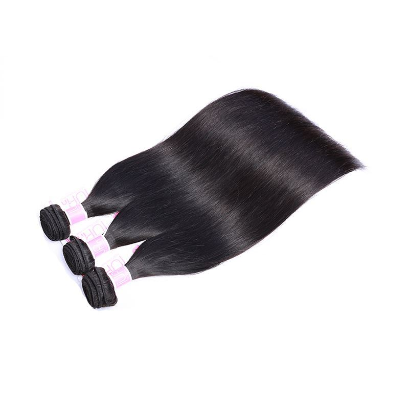straight human hair bundles