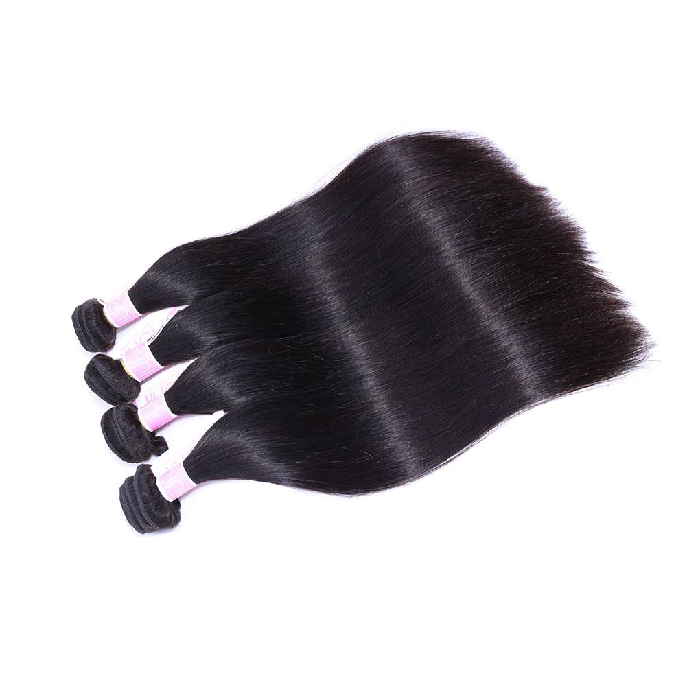 peruvian straight hair 4 bundles