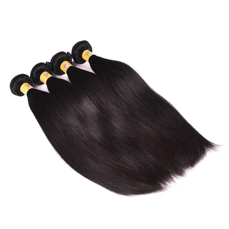 malaysian straight hair 4 bundles