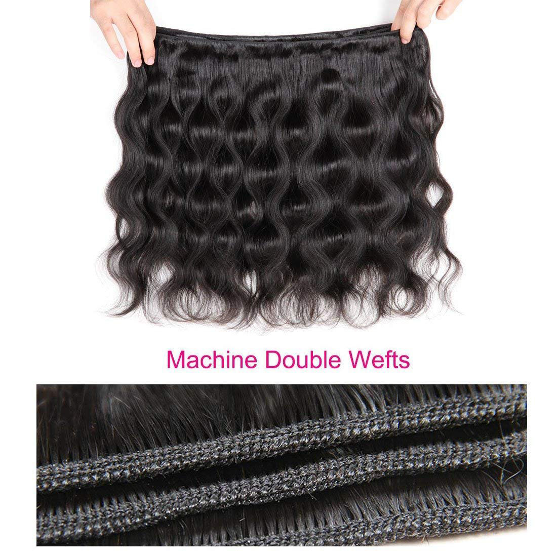 Brazilian Human Hair 4 Bundles Body Wave