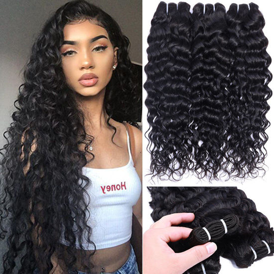 ANNELBEL Brazilian Virgin Water Wave Hair 3 Bundles