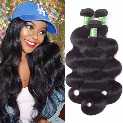 Brazilian Virgin Hair Body Wave Unprocessed Virgin Brazilian Body Wavy Human Hair Weave