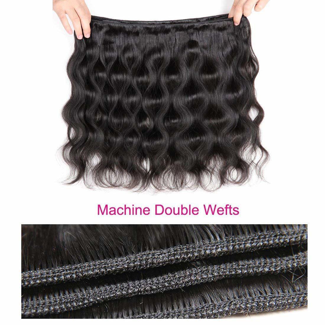 Brazilian Virgin Hair Body Wave Unprocessed Virgin Brazilian Body Wavy Human Hair Weave Bundle