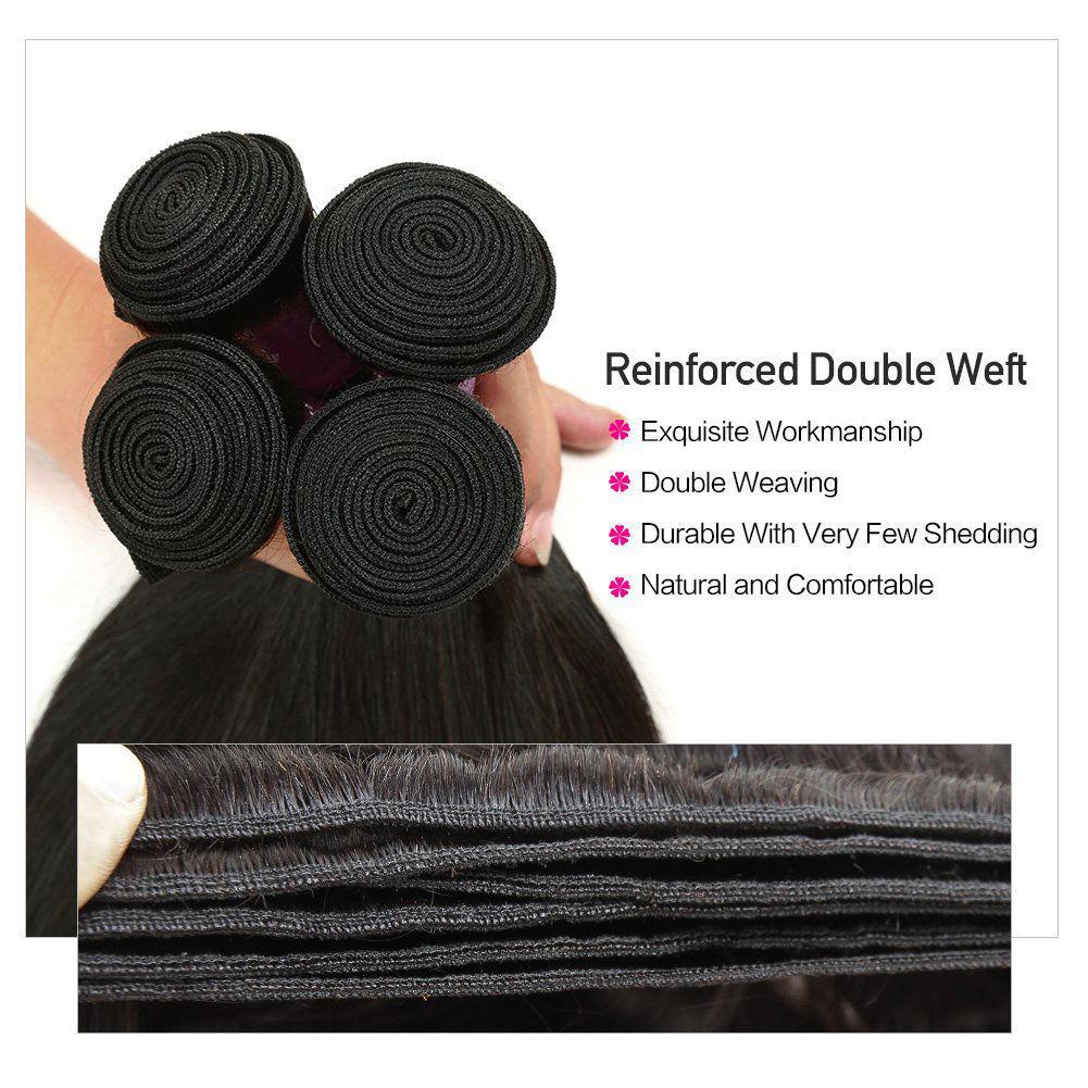 Brazilian Straight Virgin Hair Bundles Unprocessed  Remy Human Hair Brazilian Straight Hair