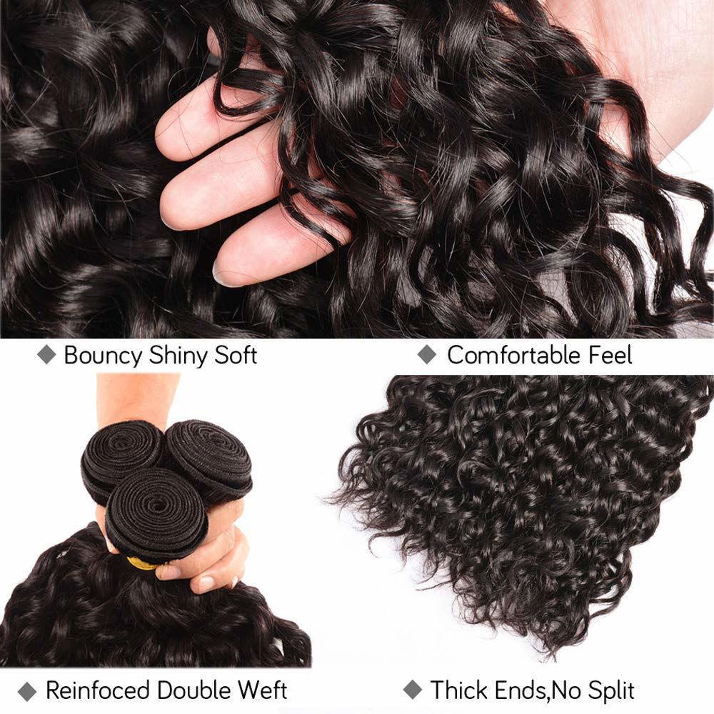 Brazilian Virgin Hair Water Wave Bundles Unprocessed Virgin Human Hair Extensions Water Wave Wholesale Hair