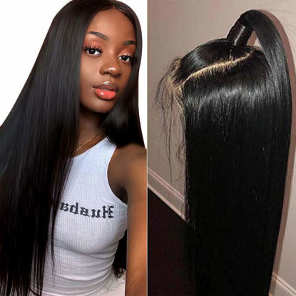 Annelbel Hair Lace Front Wigs Straight Hair Brazilian Virgin Human Hair Lace Closure Wigs For Black Women