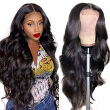 Body Wave Lace Closure Wig Human Hair Glueless 4x4 Lace Closure Wig Human Hair Wigs for Black Women 1