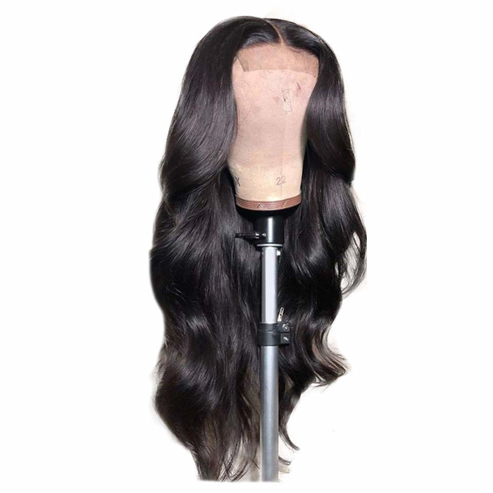 Body Wave Closure Wig Human Hair 4x4 Lace Closure Wigs Human Hair Body Wave Natural Human Hair Wigs for Black Women Pre Plucked Wavy Human Hair 2
