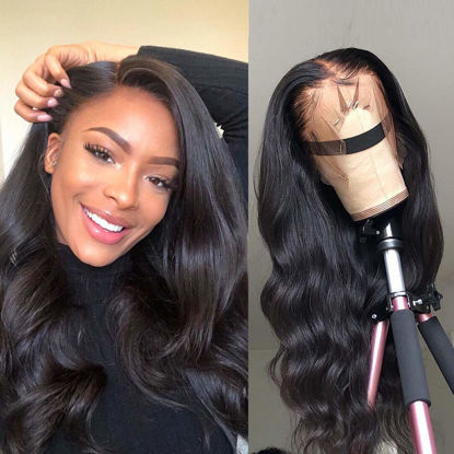 360 Body Wave Lace Frontal Wigs Human Hair Brazilian Black Women 150% Density Pre Plucked With Baby Hair Unprocessed Virgin Human Hair 1.jpg